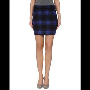Paul Smith Black Label mini wool skirt